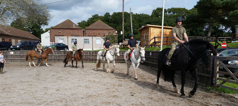 Saddle Club Military